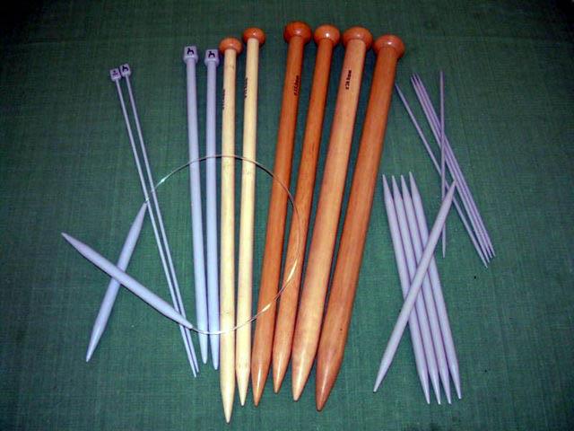 Изготовление вязальных спиц своими руками