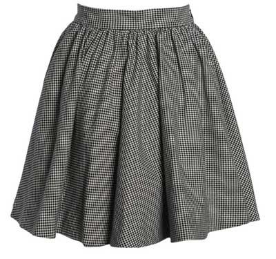 Покроить юбку клеш